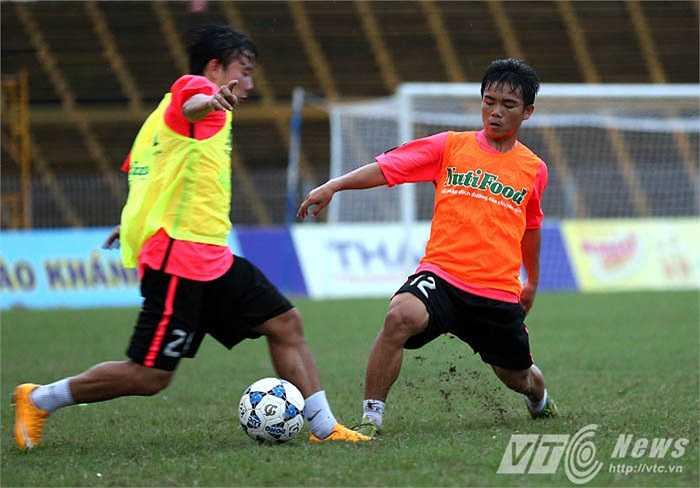 U19 HAGL Arsenal JMG cũng trình làng nhiều cầu thủ trẻ mới ở giải lần này (Ảnh: Quang Minh)