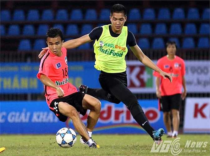 Thủ thành Văn Trường và Thanh Tùng, hai người để lại nhiều ấn tượng ở giải U19 Châu Á