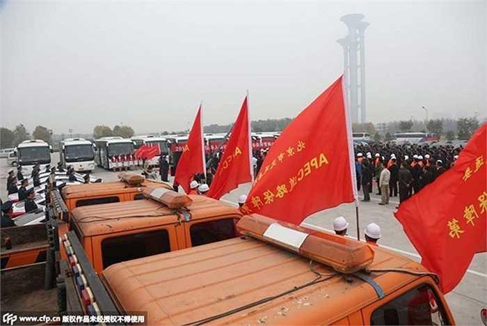 Chính quyền Bắc Kinh cũng điều động lực lượng an ninh và cảnh sát tăng cường bảo vệ an ninh trong giai đoạn hội nghị cấp cao APEC 2014 diễn ra tại thủ đô của Trung Quốc từ ngày 7 - 12/11.