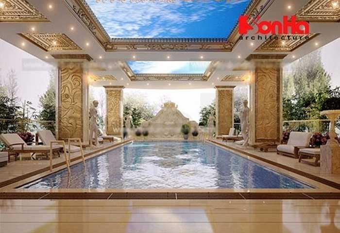 Mới đây, một công ty tư vấn xây dựng đã đưa ra bộ ảnh thiết kế 3D tòa khách sạn của đại gia Nguyễn Quốc Thanh. Ông này vốn được biết đến là chủ nhân của tòa lâu đài 6 con gà dát vàng tại Hoàng Quốc Việt (Cầu Giấy - Hà Nội).