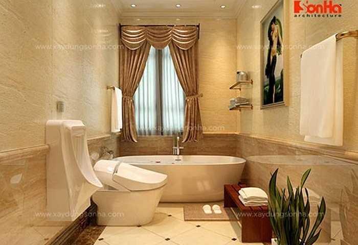 Bên cạnh đó, khu vệ sinh và phòng tắm của mỗi phòng ngủ đều được thiết kế tối ưu nhất.