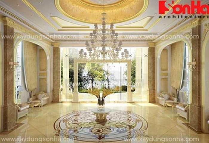 Phòng ngủ mang hơi hướng kiến trúc Pháp, tinh tế và thích hợp cho những cặp đôi tận hưởng tuần trăng mật