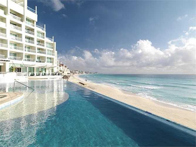 25. Sun Palace - Cancun, Mexico: Vô số cặp đôi đã đến đây nghỉ dưỡng, để tận hưởng những giây phút đẹp như mơ.