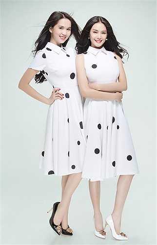 Ngọc Trinh và Linh Chi đều sở hữu nhan sắc ngọt ngào và xinh đẹp.