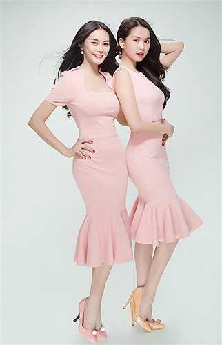 Cùng đầu quân cho công ty đào tạo người mẫu của Vũ Khắc Tiệp, hai nhan sắc tham gia nhiều hoạt động trong làng người mẫu.