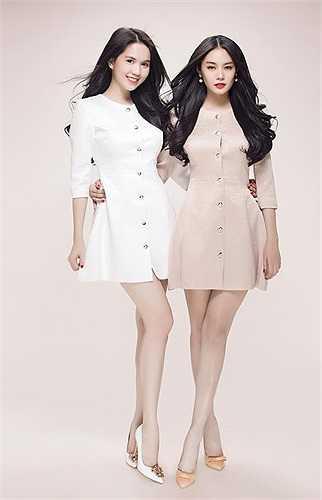 Không phải những trang phục hàng hiệu đắt đỏ, thậm chí có phần quá bình dân, nhưng cả Ngọc Trinh và Linh Chi đều rạng rỡ.