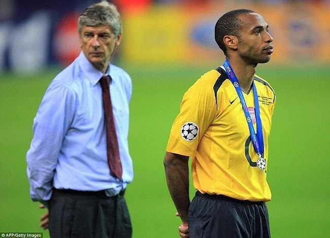Nỗi buồn không thể diễn tả thành lời sau thất bại trước Barcelona trong trận chung kết Champions League 2006