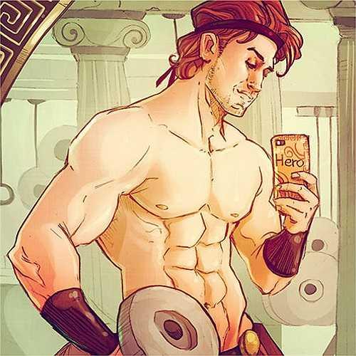 Vị thần sức mạnh Hercules (Héc-quyn)
