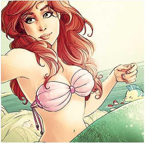 Nhân vật nàng tiên cá Ariel