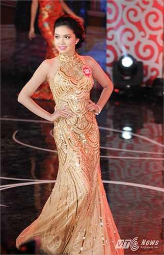 Đây là một trong 20 thí sinh lọt vào vòng chung kết Hoa hậu Việt Nam năm nay