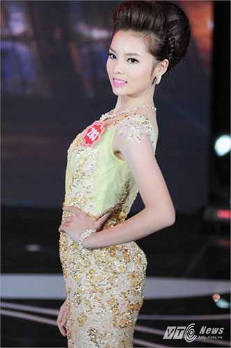 Thí sinh Nguyễn Cao Kỳ Duyên, mang số báo danh 283 với trang phục dạ hội lộng lẫy cũng sẽ có mặt trong vòng chung kết