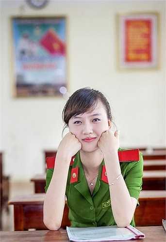 Cô bạn thường xuyên được lên hình trong các ấn phẩm của trường.