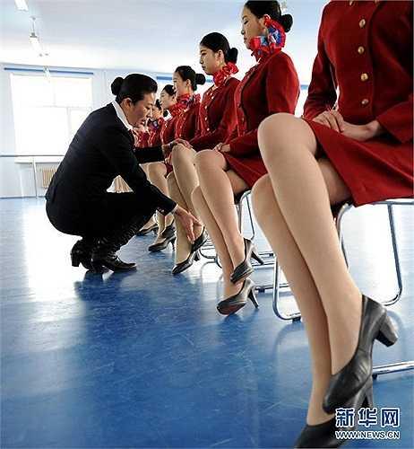 Tư thế ngồi cũng khá quan trọng đối với một tiếp viên hàng không