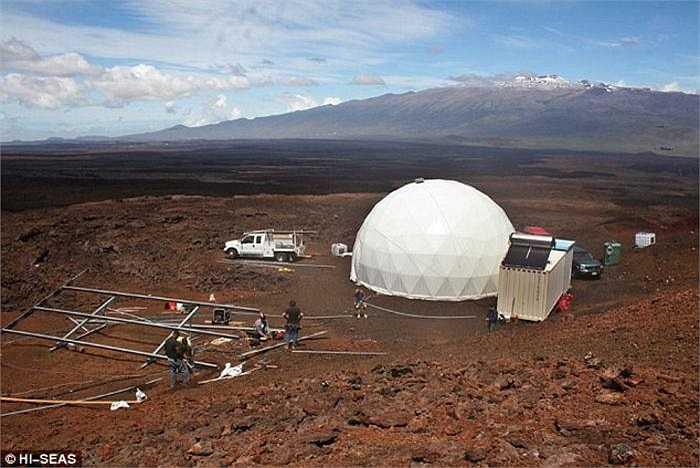 Nhóm 6 phi hành gia sẽ sống trong một vòm trắc địa ở độ cao 2.440m trên mực nước biển. Vòm được xây dựng trên dốc phía Bắc núi lửa Mauna Loa ở Hawaii. Thời gian thử nghiệm chia làm 3 đợt, kéo dài tương ứng 4, 8, 12 tháng.