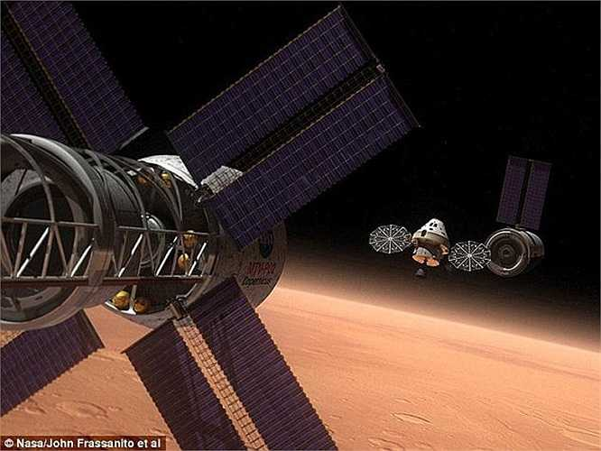 Mục tiêu của Nasa là đưa con người lên sao Hỏa vào năm 2030. Tháng 12 năm nay, lần đầu tiên họ sẽ tiến hành thử nghiệm mô đun Orion - phương tiện đưa các phi hành gia đến và đi khỏi môi trường Trái Đất và tiến vào sao Hỏa.