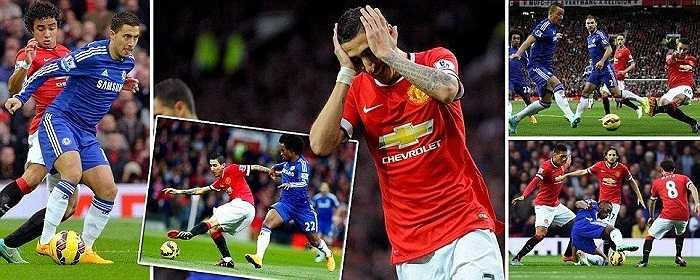 Trận cầu tâm điểm vòng 9 Premier League diễn ra trên sân Old Trafford, giữa Man Utd và Chelsea.
