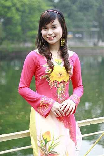 Thùy Linh là nữ sinh đạt vương miện cho ngôi vị cao nhất tại cuộc thi Miss Bách khoa diễn ra vào năm 2010.