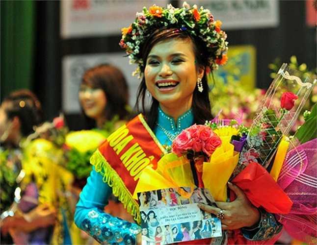 Ngoài ra, Thùy Linh còn có năng khiếu nổi bật là MC.