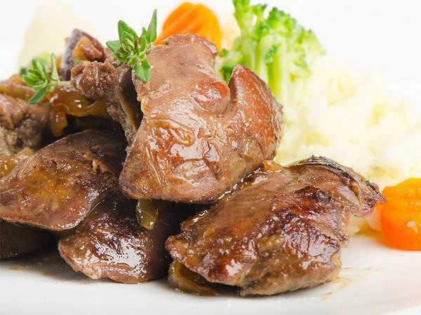 Gan cũng là một thực phẩm giúp tăng nồng độ tiểu cầu và ngăn ngừa tình trạng thiếu máu cho cơ thể.