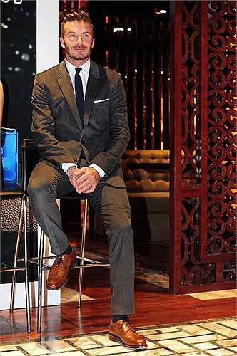 Lần thứ 2 tới Việt Nam, Beckham tiếp tục để lại dấu ấn bởi sự lịch thiệp, chuyên nghiệp tới từng tiểu tiết