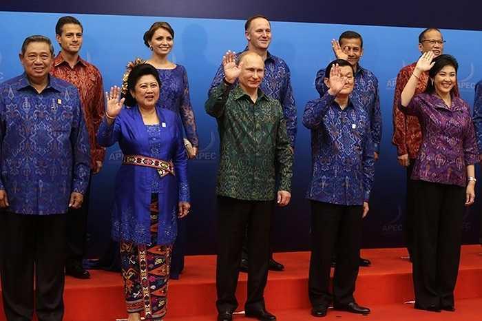 Lãnh đạo các quốc gia dự APEC 2013 tổ chức tại Bali, Indonesia