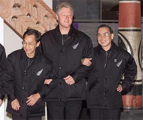 Các nhà lãnh đạo ở Hội nghị APEC 1999 ở Auckland, New Zealand