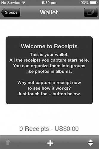 Receipts: Ứng dụng cho phép nhân viên Apple chụp lại các hóa đơn mà mình phải bỏ ra như ăn trưa, cafe ... cùng khách hàng. Những chi phí có phát sinh tới công việc này đều được Apple hoàn trả.