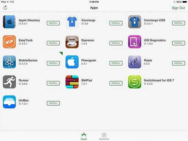 Switchboard: Kho ứng dụng App Store dành riêng cho nhân viên Apple, tại đây các phần mềm luôn là phiên bản mới nhất.