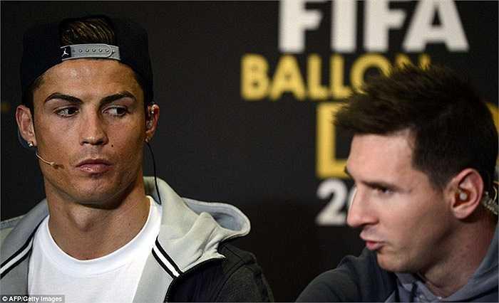 Ronaldo và Messi luôn là đối thủ chính của nhau trong mọi cuộc đua, kể từ năm 2009 tới nay
