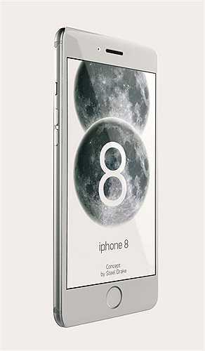 Không có thông tin về kích thước màn hình, nhưng nhiều khả năng iPhone 8 sẽ trang bị màn hình 4,7 inch như iPhone 6 mới ra mắt.