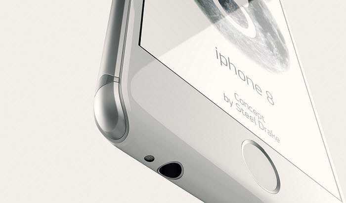 Phía dưới máy tích hợp jack cắm 3,5 mm cùng microphone đặt bên cạnh nhau.