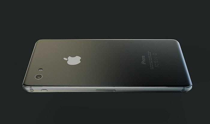 Phía sau máy tích hợp camera, nhiều khả năng sẽ cải tiến độ phân giải và thiết kế không bị lồi như iPhone 6 mới ra mắt của Apple.