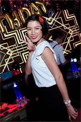 Nữ diễn viên, người mẫu Trang Trần.
