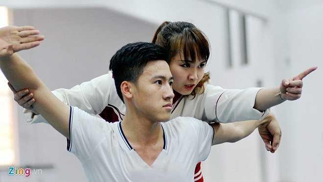 Tại giải vô địch thế giới trẻ đầu năm 2014, cậu học trò Nguyễn Mạnh Khoa của cô đã xuất sắc đoạt HCV. Đây sẽ là động lực để cô tiếp tục gắn bó với công việc của 1 HLV wushu.