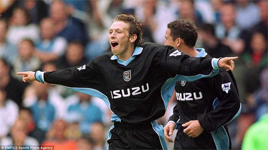 37. Craig Bellamy (Coventry City, Newcastle United, Blackburn Rovers, Liverpool, West Ham, Manchester City, Cardiff City) - 75 bàn