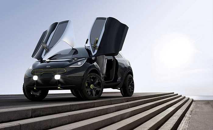 Chuyên trang Auto Express phỏng đoán chiếc xe sẽ dựa trên mẫu KIA Niro Concept, chiếc xe được giới thiệu vào tháng 9/2013 tại triển lãm Frankfurt Motor Show.