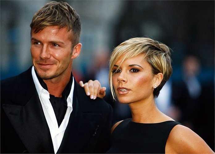Beckham ton-sur-ton cùng cô vợ Victoria