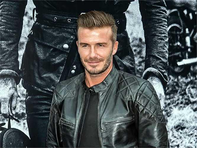 Hình ảnh Beckham lịch lãm trước khi sang Việt Nam