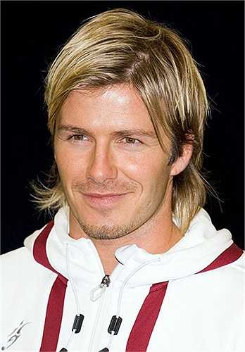 Những kiểu tóc nghệ sĩ như này, Becks không bao giờ thiếu