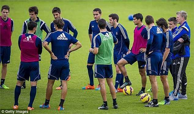 Hợp đồng của David Moyes với đội bóng Tây Ban Nha có thời hạn 18 tháng.