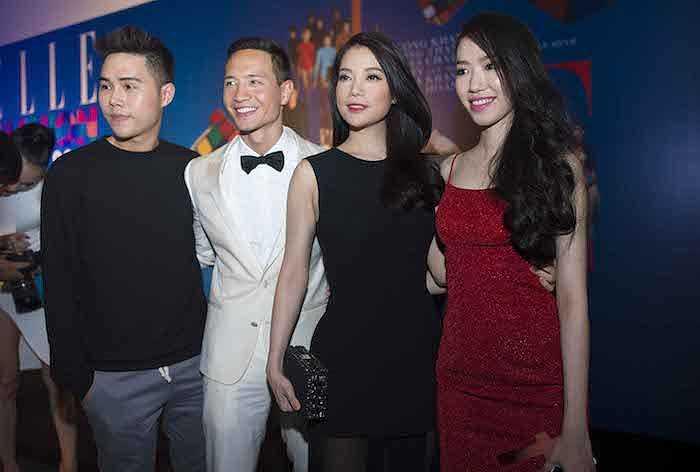 Trương Ngọc Ánh, Kim Lý cùng nhà thiết kế Lâm Gia Khang.