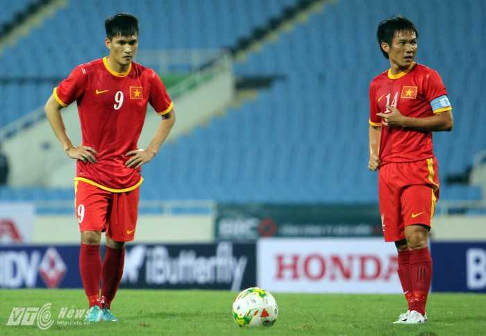 Có đủ sao nhưng tuyển Việt Nam không hút khán giả (Ảnh: Hà Thành)