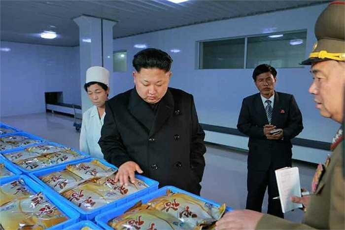Tháng 5/2013, nhà lãnh đạo họ Kim khi tới thăm xưởng thực phẩm này đã yêu cầu hiện đại hóa cơ sở của xưởng thực phẩm