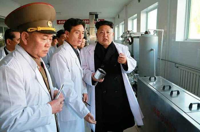 Xưởng thực phẩm này sẽ chuyên sản xuất các thực phâm ngon và giàu dinh dưỡng cho quân đội Triều Tiên