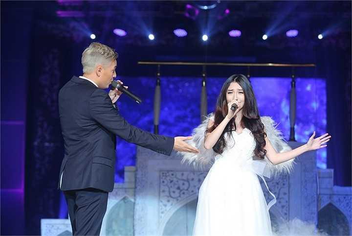 Khổng Tú Quỳnh – nhân vật khách mời được các fan của Ngô Kiến Huy yêu cầu nhiều nhất tham gia liveshow với ca khúc Định mệnh ta gặp nhau.