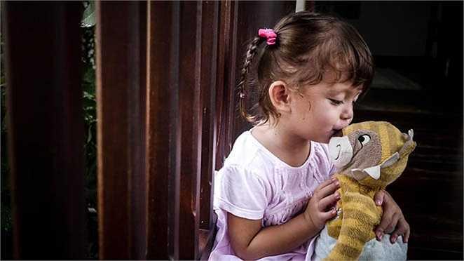 Khi hai bé chưa tròn một tuổi, Hồng Nhung hầu như không bao giờ chia sẻ hình ảnh các con.