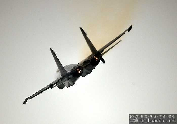 Máy bay chiến đấu thế hệ 4++ Su-35 của Nga tại triển lãm hàng không Chu Hải, Trung Quốc