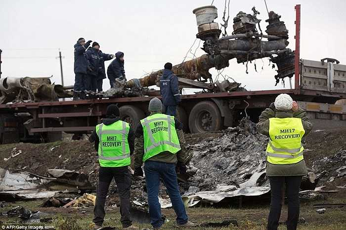 Nếu tuyết xuất hiện sẽ cản trở quá trình thu gom những gì còn lại của MH17 sau tai nạn