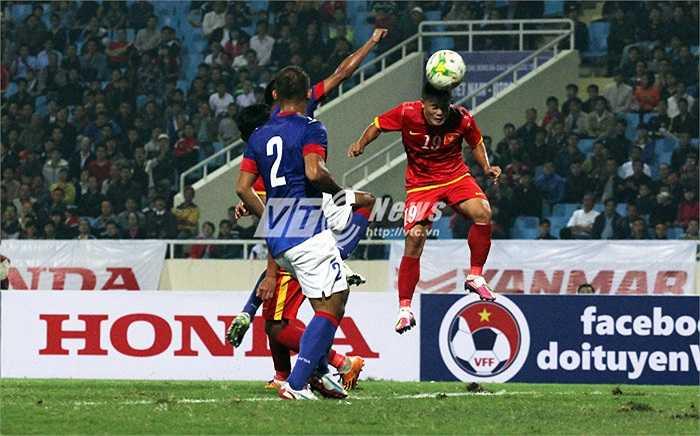 Tuyển Việt Nam có trận thử lửa cuối cùng trước thềm AFF Suzuki Cup 2014 (Ảnh: Nhạc Dương)
