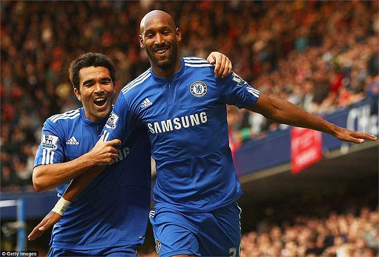 21. Nicolas Anelka (Arsenal, Liverpool, Manchester City, Bolton Wanderers, Chelsea, West Brom) - 125 bàn